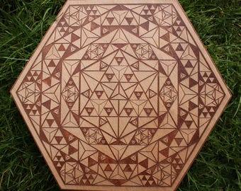 Merkaba Mandala Crystal Grid