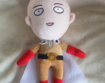 One Punch Man Anime Plush Plushie Stuffed Toy Doll Cute Kawaii Merchandise Gift Oppai