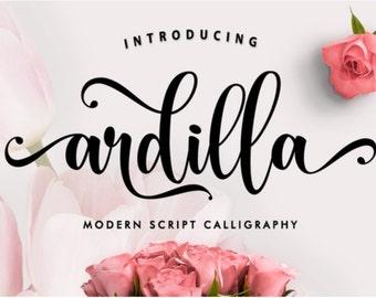 calligrapher font
