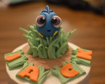 Baby Dory Cake Topper