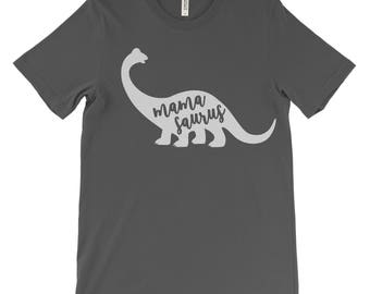 MAMASAURUS Dinosaur Mom Tee | Cute Mom Shirt | Dinosaur Lover | Mom Gift | Baby Shower Gift | Funny Mom Shirt