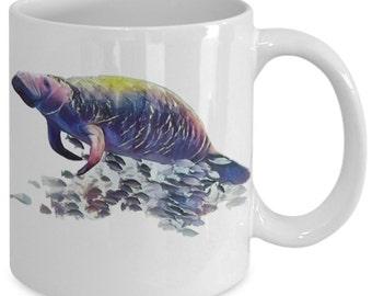 Manatee Love Ceramic Mug