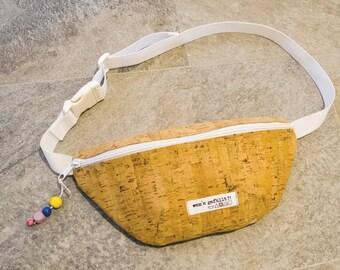 Belt bag, Fanny Pack, Cork
