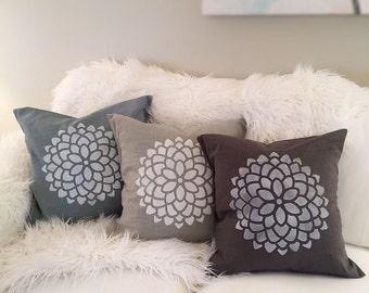 """Handmade 18x18"""" Pillow Cover"""