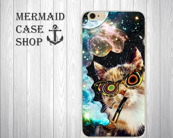 Cat iPhone 7 Clear Case iphone 7 case clear with design iPhone 7 Plus Case iPhone 6 clear case iphone 6 case protective/HK-07/4