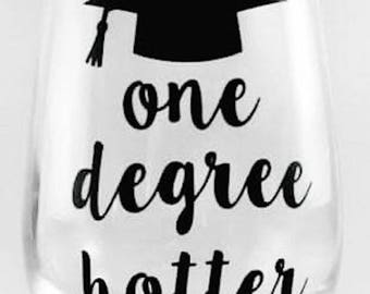 One Degree Hotter Stemless Wine Glass - 17oz