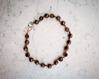"Bracelet man ""Grana"" bronze"