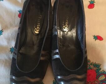 80's vintage shoes size 37