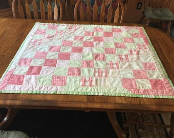 Baby Quilt or Table Topper
