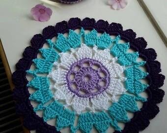 Crochet doily, doily