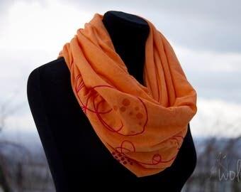 Loop | floral fire - tube scarf