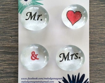 Mr & MRS Magnets
