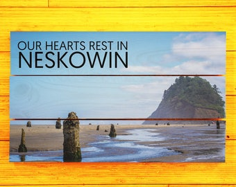 Proposal Rock, Nekowin, Oregon - Custom Pallet Picture