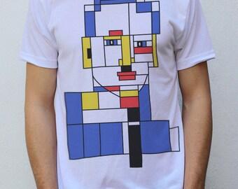 Piet Mondrian T shirt