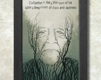 Werner Herzog Poster Print A3+ 13 x 19 in - 33 x 48 cm  Buy 2 get 1 FREE