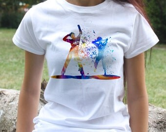 Music dance t-shirt - Party people tee - Fashion women's apparel - Colorful printed tee - Gift Idea