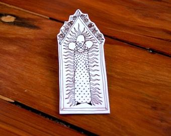 shrink film altar pin