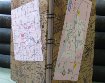 Handmade Journal-Macedon Village and Town