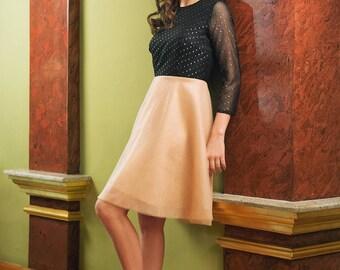 Short tulle dress