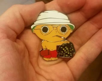Stewie Griffin Tripping Hat pin