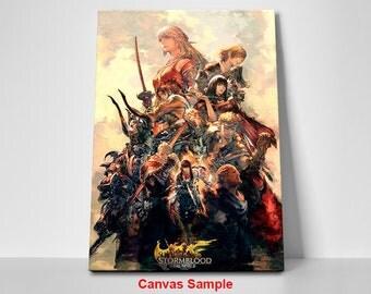 Final Fantasy XIV Online: Stormblood Collage