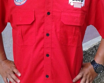 Jeep embrodery shirts