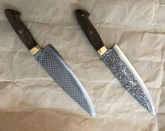 Chef knives handmade