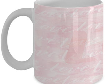 Love Romance - Pink Coffee Mug