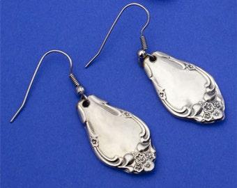 Spoon Handle Earrings-Affection pattern