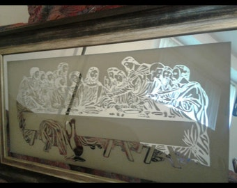The last Supper Mirror