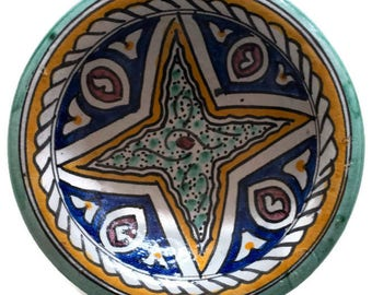 Fez Ceramic Plate