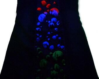 Jeans dress of bubbles, 36
