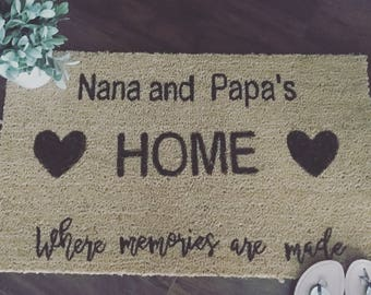 Nana and Papas home, where memories are made
