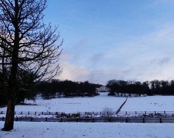 Arnhem Sonsbeek Park Winter morning 1