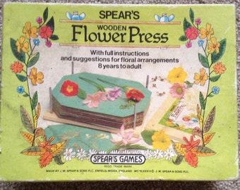 Vintage Spears Flower Press