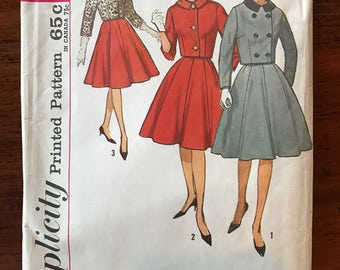 Vintage Simplicity Pattern - Single and Double Breasted Suit