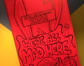 Wonderland Madness - Coloring Book