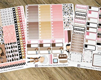 The Walking Dead Inspired Big Happy Planner Weekly Kit