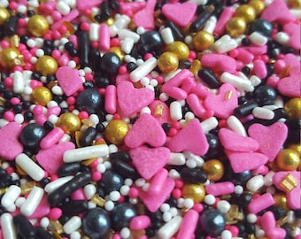 Golden Heart Sprinkle Mix