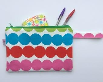Marimekko fabric pouch with handle | Handbag |