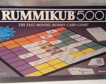 1992 Pressman Rummikub 500 Game Excellent Condition Complete FREE SHIPPING
