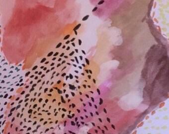 Watercolor Paintings: 10 x 7 frameless