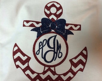 Personalized Anchor Shirt