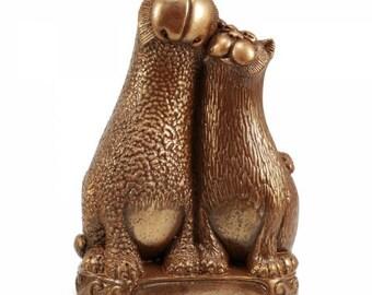 Chocolate Gift ' Cats in love'/ Handmade Cift/ Ladies Gift/Mum/Nan/Sister/Animal/Birthday