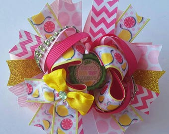 Daddys girl hairbow, Daddys favorite, Daddys main squeeze hairbow, birthday gift