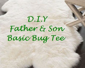D.I.Y Father and Son Bug Tee,
