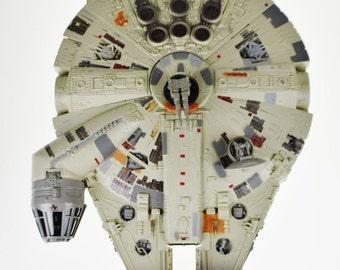 Star Wars 1995 POTF Electronic Millennium Falcon Kenner Tonka Corporation