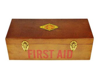 1950s Philadelphia Electric Company Camping Club First Aid Kit