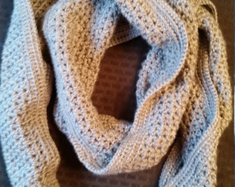 Super Soft Infinity Scarf in Heather Gray