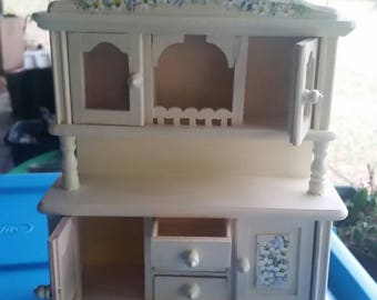 1:12 miniature china cabinet (Reduced Price)